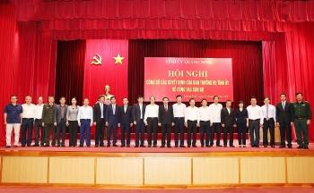 Hải Phòng, Quảng Ninh, Thanh Hóa kiện toàn nhân sự, bổ nhiệm lãnh đạo mới
