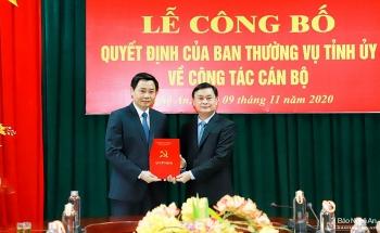 Nghệ An, Quảng Nam, Vĩnh Long bổ nhiệm lãnh đạo mới