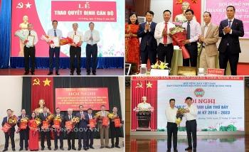 Hải Phòng, Quảng Ninh, An Giang kiện toàn nhân sự, bổ nhiệm lãnh đạo mới