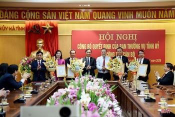 Tin bổ nhiệm lãnh đạo mới Hải Phòng, Hà Tĩnh, Bến Tre