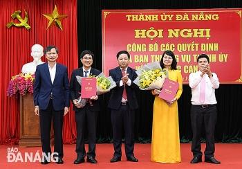 Hà Nội, Đà Nẵng bổ nhiệm nhân sự, lãnh đạo mới