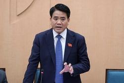 Hà Nội sắp họp miễn nhiệm chức vụ Chủ tịch UBND của ông Nguyễn Đức Chung và bầu nhân sự thay thế