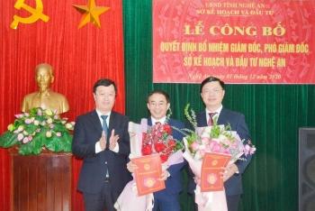 Nhân sự, lãnh đạo mới tại TP.HCM, Lai Châu, Nghệ An
