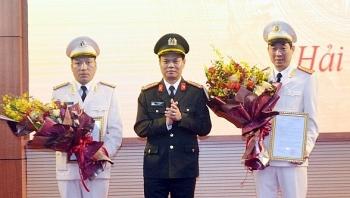 Công an tỉnh Hải Dương bổ nhiệm 2 Phó Giám đốc