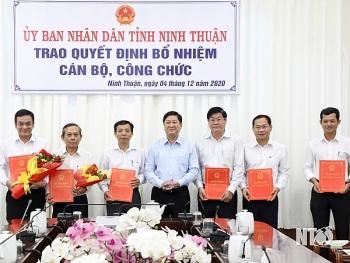 Bổ nhiệm nhiều lãnh đạo mới Ninh Thuận và Bình Phước