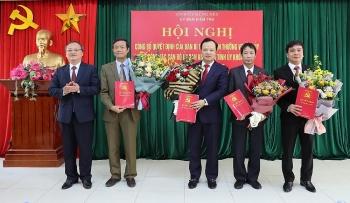 Hưng Yên và Quảng Bình điều động, bổ nhiệm lãnh đạo mới