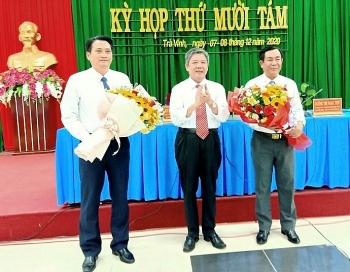 Bổ nhiệm lãnh đạo mới tại Hà Nội, Trà Vinh, Hà Tĩnh, Hậu Giang