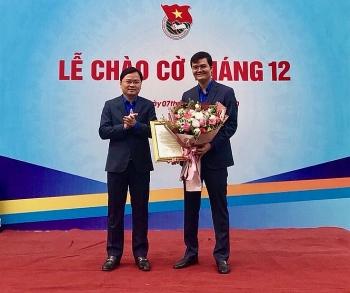 Ông Bùi Quang Huy giữ chức Bí thư Thường trực Trung ương Đoàn