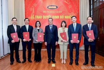 Bộ Ngoại giao điều động, bổ nhiệm nhiều nhân sự, lãnh đạo mới