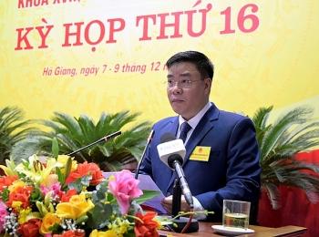 Giám đốc Sở được bầu làm Phó Chủ tịch UBND tỉnh Hà Giang