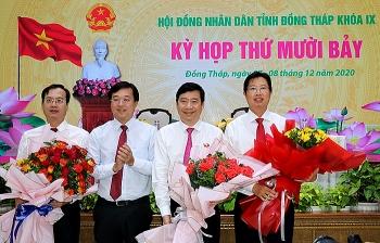 Tin bổ nhiệm nhân sự, lãnh đạo tỉnh Đồng Tháp, Ninh Thuận, Gia Lai, Tiền Giang