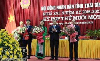 Thái Bình bầu tân Phó Chủ tịch UBND, HĐND tỉnh