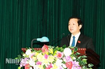 Chân dung tân Chủ tịch UBND tỉnh Ninh Bình - Phạm Quang Ngọc