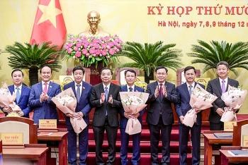 Chân dung 5 Phó Chủ tịch TP. Hà Nội vừa được Thủ tướng phê chuẩn