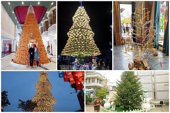 Top 5 cây thông Noel độc, lạ nhất Việt Nam dịp Giáng sinh 2020