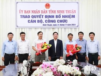 Bổ nhiệm lãnh đạo mới Quảng Nam, Ninh Thuận, Đồng Tháp, Cà Mau