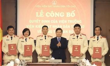 Bổ nhiệm nhân sự Viện KSND tối cao, Học viện Chính trị Quốc gia Hồ Chí Minh