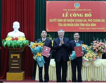 Tin bổ nhiệm lãnh đạo mới Tổng cục Thuế, TAND Tối cao