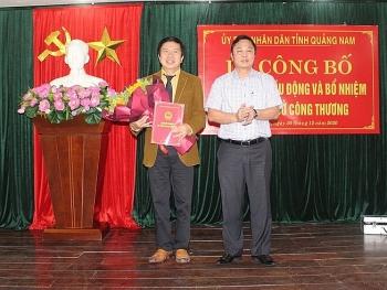 Quảng Nam, Quảng Bình, Tây Ninh bổ nhiệm nhân sự mới
