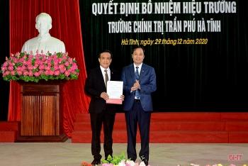 Bổ nhiệm lãnh đạo mới Lạng Sơn, Hà Tĩnh, Bắc Ninh