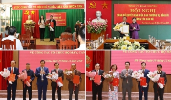 Bổ nhiệm nhân sự mới Hà Giang, Thái Nguyên, Đắk Nông