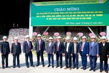 Phú Thọ: Supe Lâm Thao đổi mới phương thức quản lý và công nghệ, nâng cao hiệu quả sản xuất