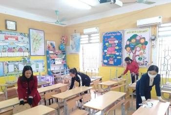 Học sinh tỉnh Phú Thọ đi học trở lại từ ngày 22-2