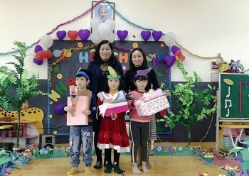 Vĩnh Phúc: Trường Mầm non Thiện Kế nâng cao chất lượng chăm sóc và giáo dục trẻ em