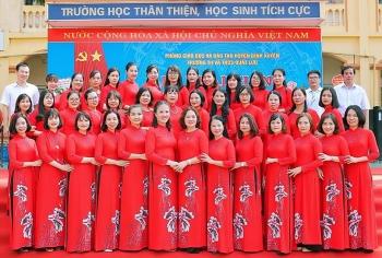"""Vĩnh Phúc: Trường Tiểu học và THCS Quất Lưu thực hiện tốt việc """"Dạy chữ đi đôi với dạy người"""""""