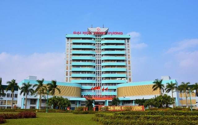 Trường Đại học Hùng Vương cơ sở tại Thành phố Việt Trì, tỉnh Phú Thọ (ảnh: ĐHHV).