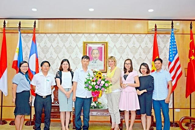 Trường Đại học Hùng Vương đẩy mạnh hoạt động hợp tác quốc tế (ảnh ĐHHV)