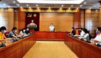 Chủ tịch UBND tỉnh Vĩnh Phúc Lê Duy Thành: Quyết tâm bao vây, khoanh vùng, đón đầu, đánh chặn Covid-19