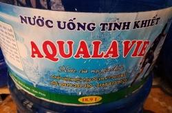 thu hoi giay chung nhan attp phat chu co so nuoc aqualavie 40 trieu dong