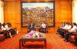 Đại sứ quán Ấn Độ tại Việt Nam sẽ là cầu nối để doanh nghiệp Ấn Độ đầu tư vào tỉnh Vĩnh Phúc
