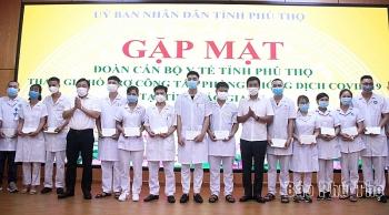 Tỉnh Phú Thọ cử 84 cán bộ y tế hỗ trợ Bắc Giang