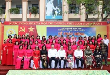 Trường Tiểu học Định Trung: Tích cực đổi mới phương pháp dạy học, nâng cao chất lượng giáo dục