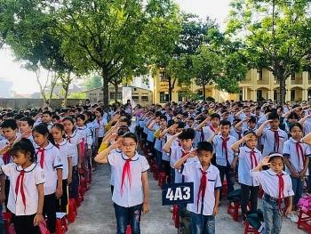 """Giữ vững trường chuẩn Quốc gia mức độ II: """"Chìa khóa"""" nâng cao chất lượng giáo dục của trường TH Gia Khánh A"""