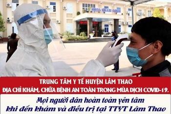 TTYT huyện Lâm Thao: Thực hiện tốt mục tiêu kép phòng chống dịch Covid-19, nâng cao chất lượng khám chữa bệnh