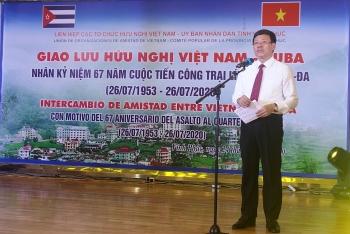 Vĩnh Phúc: Giao lưu hữu nghị Việt Nam - Cuba kỷ niệm 67 năm cuộc tiến công Trại lính Moncada