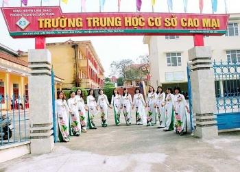 """Phú Thọ: Trường THCS Cao Mại xây dựng trường học """"An toàn – Thân thiện – Bình đẳng"""""""