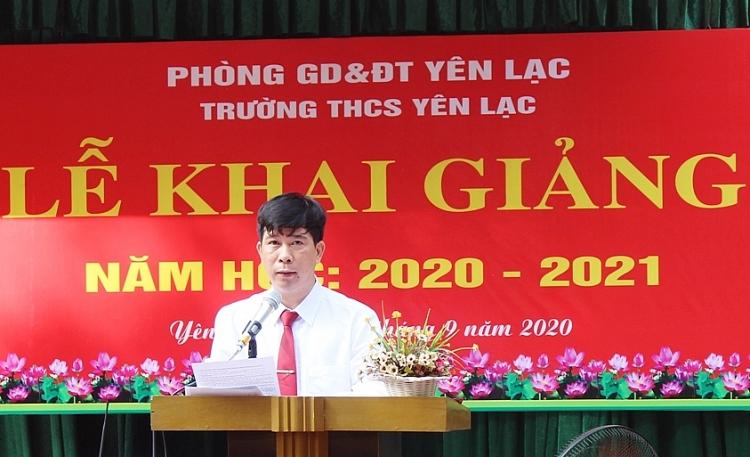 vinh phuc truong thcs yen lac xung danh la co dau nganh giao duc huyen yen lac