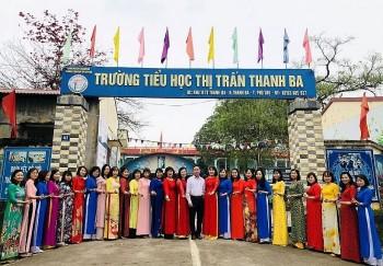 Ngành giáo dục huyện Thanh Ba sẵn sàng dạy và học ứng phó với dịch COVID-19