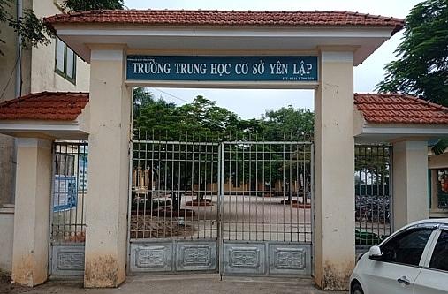 truong thcs yen lap duoc cong nhan dat chuan quoc gia