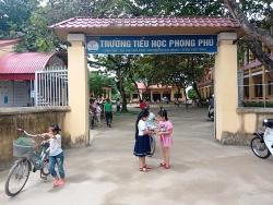 Lùm xùm các khoản thu chi tại trường Tiểu học Phong Phú