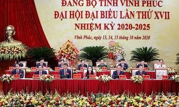 Vĩnh Phúc: Khai mạc Đại hội đại biểu Đảng bộ tỉnh lần thứ XVII nhiệm kỳ 2020 – 2025