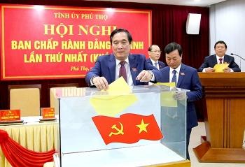 Ông Bùi Minh Châu tái đắc cử Bí thư Tỉnh ủy Phú Thọ với số phiếu tuyệt đối