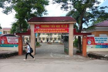 """Vĩnh Phúc: """"Cổng trường an toàn giao thông – thân thiện"""" ở trường Tiểu học Tề Lỗ"""
