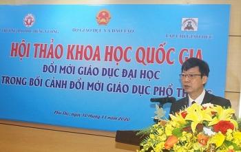 Thứ trưởng Bộ GD&ĐT Hoàng Minh Sơn: Tập trung đổi mới dạy, đào tạo giáo viên phổ thông