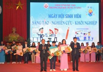 Phú Thọ: Ngày hội sinh viên Sáng tạo - Nghiên cứu - Khởi nghiệp