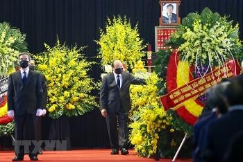 Lễ Quốc tang nguyên Tổng Bí thư Lê Khả Phiêu